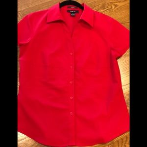 Style & Co.  Red Blouse